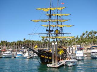обои Желтые паруса фото