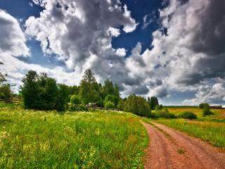 обои Деревенские дороги фото
