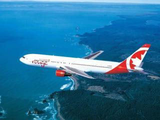 обои Канадские авиалинии фото