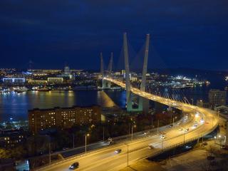 обои для рабочего стола: Вечерний Владивосток