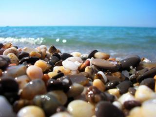 обои Камни,   омытые морем фото