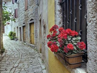 обои Улочка в Хорватии фото