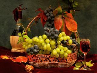 обои Роняет осень зрелый плод фото