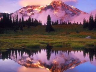 обои Появление горы фото