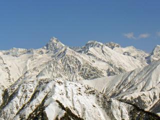 обои Снежные вершины фото