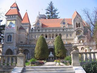 обои для рабочего стола: Замок Бори. Венгрия