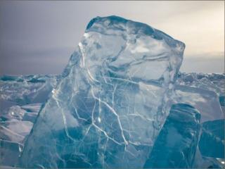 обои для рабочего стола: Осколки льда