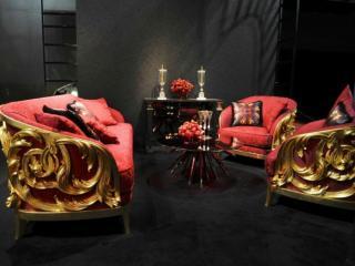 обои Шикарный интерьер от Versace Home фото