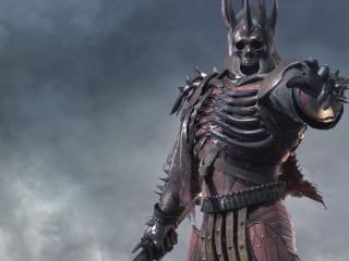 обои для рабочего стола: Железный воин с мечем