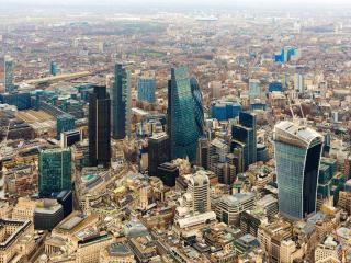 обои Лондонские небоскрёбы фото