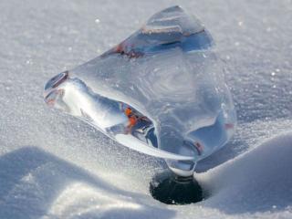 обои Снег и лёд фото