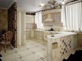 обои Белая кухня фото