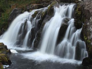 обои Водопад в Мурманской области фото