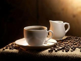 обои Кофе и молочник фото