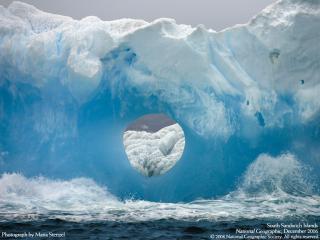 обои Портал в льдине фото