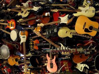 обои Музыкальные инструменты фото