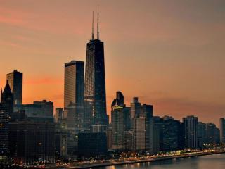 обои Небоскрёбы Чикаго фото