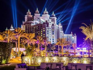 обои для рабочего стола: Ночной Дубаи