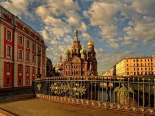 обои Утро в Санкт-Петербурге фото