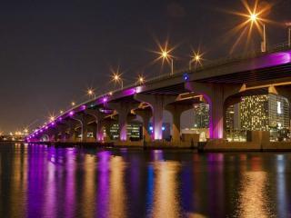 обои Сиреневый мост фото