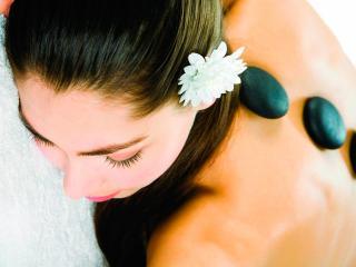 обои Каменный расслабляющий массаж фото