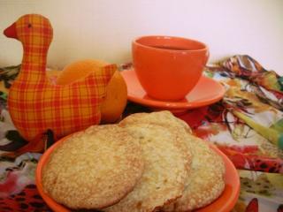 обои Апельсиновое печенье фото