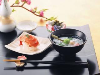 обои Завтрак японца фото