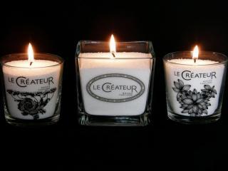 обои Три ароматных свечи фото