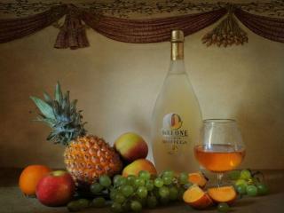 обои Ягоды,   фрукты,   вино фото