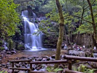 обои Водопад-каскад Cascata da Cabreia фото