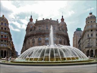 обои Площадь Раффаэле Де Феррари в Генуе фото