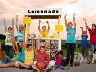 обои для рабочего стола: Акция в поддержку лимонада