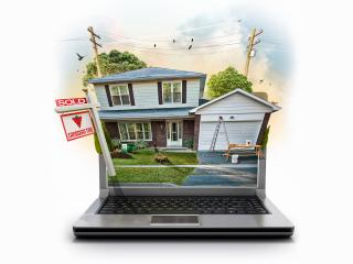 обои Интернет продажи недвижимости фото
