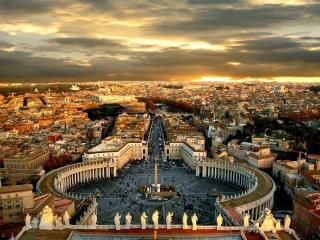 обои для рабочего стола: Город Рим
