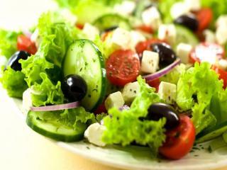 обои Овощной салат фото