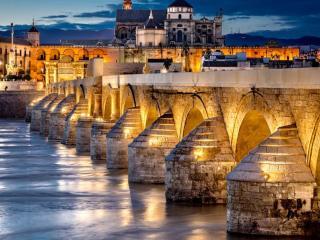 обои Римский мост в Кордове фото