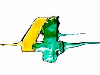 обои Четверка из разноцветных леденцов фото