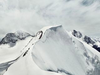 обои Зимняя сказка в горах фото