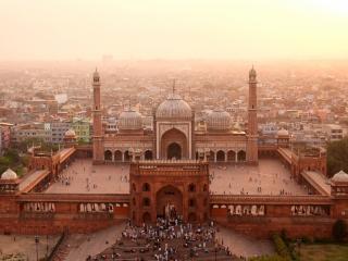 обои Красивая архитектура Индии фото