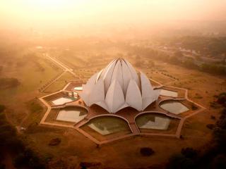 обои Современная архитектура Индии фото