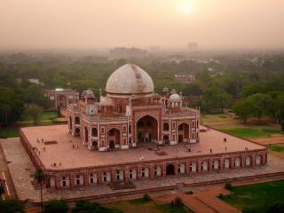 обои Красивый дворец в Индии фото