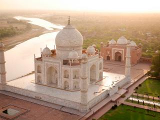 обои Величественный Тадж Махал фото