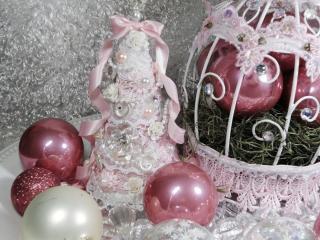 обои Новый год в стиле Шебби шик фото