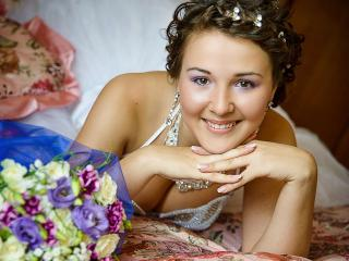 обои Улыбка невесты фото