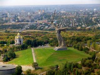 обои для рабочего стола: Манумент - Родина Мать. Волгоград. Россия