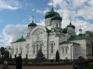 обои Раифский богородицкий мужской монастырь. Республика Татарстан фото