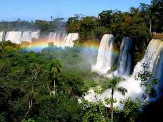 обои Самый большой водопад в Игуасе - глотка дьявола фото