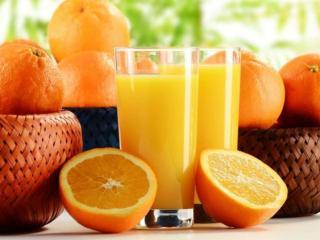 обои Сок и апельсины фото
