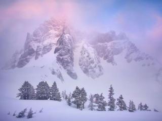 обои для рабочего стола: Белая гора