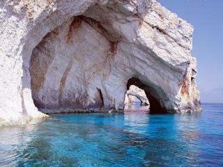 обои Бухта Наваджио,   на острове Закинтос в Греции фото